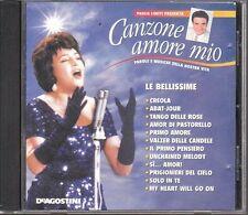 CD 405 CANZONE AMORE MIO  PAROLE E MUSICA DELLA NOSTRA VITA