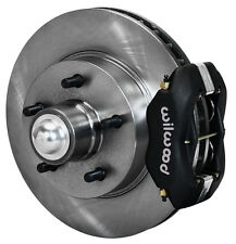 "WILWOOD DISC BRAKE KIT,FRONT,41-56 BUICK,11.88"" ROTORS,BLACK CALIPERS"