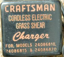 Vintage Craftsman Plug-In Battery Charger Input 120 Vac Out 5.8 Vdc 125 mA Used
