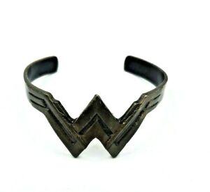 Handmade Wonder Woman Bronze Bangle Cuff Bracelet