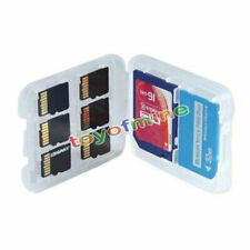 8 in 1 Hard Micro SD SDHC TF MS Memory Card Box Case Cover Case Casings