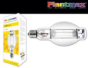 Plantmax Metal Halide Natural White Grow Lamp//bulb 400 watt 4200K FREE SHIPPING