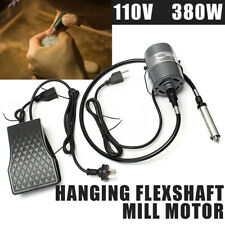 Flexshaft Motor Hanging Flexible Shaft Machine Kit Handpiece Foot Control 380W F