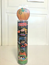 Fisher Price Little People Halloween Girl Witch Boy Superhero Pumpkin Figures