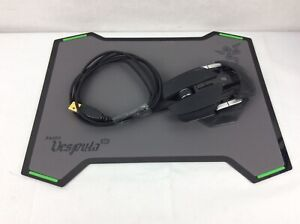 Razer Ouroboros Wire/Wireless Gaming Mouse WITH Razer Vespula Dual Sided Pad!