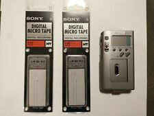 Sony NT-2 Digital Recorder with two 120-minute digital cassettes