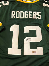 Aaron Rodgers Signed Green Bay Packers Nike NFL Jersey COA