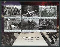 St Vincent & Grenadines 2017 MNH WWII WW2 World War II 6v M/S Military Stamps