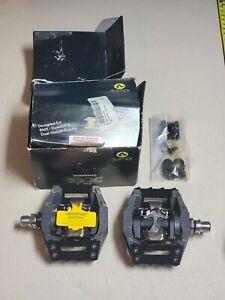 NEW Shimano DX PD-M646 Clipless Platform Pedals MTB BMX Free Ride Down Hill 9/16