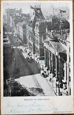 Montreal, Canada 1904 Private Mailing Card/Postcard - St. James Street/Downtown