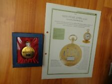 HACHETTE CLASSIC POCKET WATCH COLLECTION- RED STAR SOVIET 1920'S STYLE WATCH #53