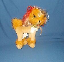 Tini Puppini Puppy Dog TOFFEE Spin Master 2008 Tan Caramel Red Hair plush