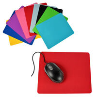 Square Mouse Pad Mice Mat Computer Soft Small Thin For Laptop Computer 215*175mm
