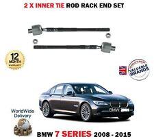 Per BMW 730d 740d 740i 750 2008-2015 2x STERZO PISTA RACK interno Tirante Fine