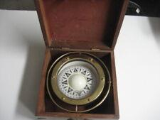.German Nautical Ship's Compass C.Plath Hamburg