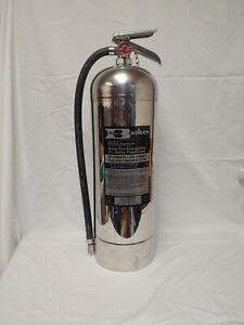 Badger WP-61 2.5 Gallon Water Fire Extinguisher Underwriters Laboratories Vtg.