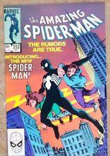AMAZING SPIDER-MAN #252 1st Black Costume; VF/NM