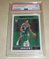 2017-18 Panini NBA Hoops Rookie #253 Jayson Tatum RC PSA 9 MINT