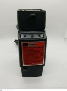 Vintage Sears Craftsman Electric Drill Bit Sharpener Model 96682 Made USA