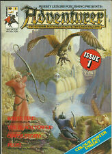 ADVENTURER MAGAZINE - ISSUE #1 (AD&D, CALL OF CTHULHU, RPG's etc.) 1986