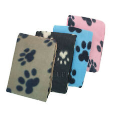 More details for bulk pack of pet dog cat puppy fleece blankets pet blanket slightly miscoloured