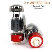 2pcs matched pair Shuguang WEKT88 PLUS Tubes upgrade KT88 6550