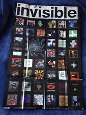 INVISIBLE RECORDS Promotional POSTER (91cm x 60.5cm) TEST DEPT, PIGFACE +++