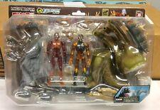Takara Microman Godzilla Series 1964 Vs King Ghidrah Figure Set Rare From Japan