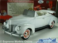 FORD DELUXE COUPE 1940 MODEL CAR 1:24 SCALE GEARBOX 69503 PEDAL CAR AMERICAN K8