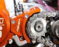 KTM 85SX 105SX 85,105 SX XC ALUMINUM ORANGE ENGINE CASE SAVER & ROLLER 2013-2016