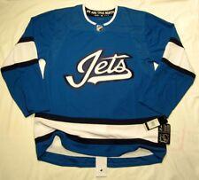 WINNIPEG JETS size 52 = sz Large - 3rd Style ADIDAS NHL HOCKEY JERSEY Authentic