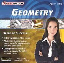 Speedstudy Geometry Boost grades and test scores! Win Xp Vista 7 8 Brand New