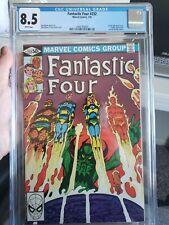 Fantastic four #232 cgc 8.5 1st full Byrne Marvel 1981