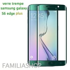 Tempered Glass Film Green Integral Total Curved Samsung Galaxy S6 Edge Plus