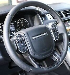 Range Rover Sport L494 SVR Heated Steering Wheel With Carbon Fiber Trim OEM