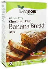 Now Foods Chocolate Chip Banana Bread Mix Gluten-Free - 10.2 oz (289 g)