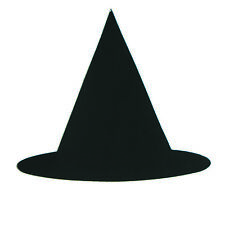 Witch's Hat Cutouts Plastic Shapes Confetti Die Cut 15 pcs  FREE SHIPPING