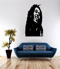 Bob Marley Viso Muro ARTE Preventivo Adesivo Decalcomania Vinile trasferimento