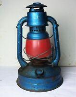 Antique Vintage DIETZ NY USA Nº100 Tubular Oi Kerosene Lantern City of LA