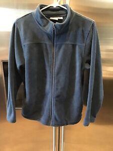 Bass Pro Shops Youth Sweat Shirt, Full Zipper, Size XL, Navy Blue, 2 Pocket