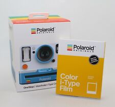 Polaroid Originals OneStep2 VF Instant Camera Summer Blue with free film - BNIB