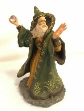 Enchantica Wizard Figure Vintage Holland Studio Craft Hand Painted In England