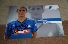 Kai Hesse (TSG 1899 Hoffenheim 2008/2009) Fehldruck Vorabdruck Kaiserslautern