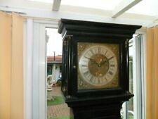 More details for antique georgian 18c. ebonised longcase clock