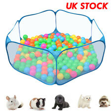 Portable Pet Playpent Small Animal Mesh Cage Game Playground Fence for Hamsters