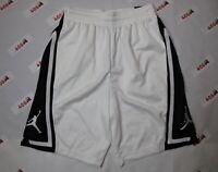 Jordan Shorts Men's Medium White Jumpman Air Brand New