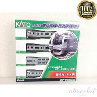 KATO N Scale 10-843 E217 Type Yokosuka Line Sobu Line New Color 4 Cars in Box