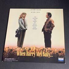 When Harry Met Sally - Billy Crystal, Meg Ryan - Laser Disc