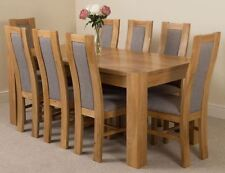 Oak Up to 8 Seats Contemporary Dining Tables Sets