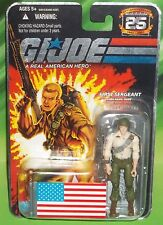 G I GI JOE 25TH ANNIVERSARY 1ST SERGEANT DUKE WITH JET PACK & FLAG FIGURE